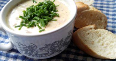 Голландский горчичный суп и Курица, запечённая под маринадом из дижонской горчицы