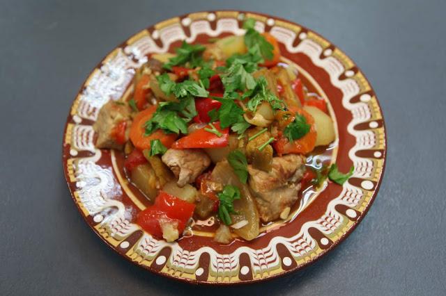 Овощной гивеч по-румынски