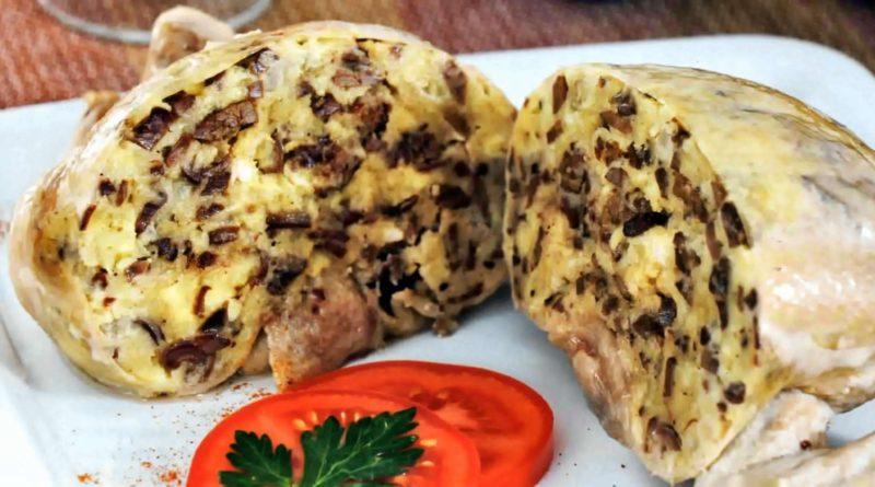 Гефилте гелзеле - Фаршированная куриная шейка по-еврейски
