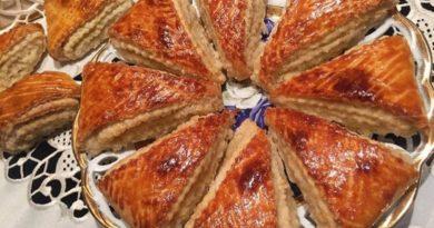 Гата ереванская - Армянская круглая сладкая лепёшка