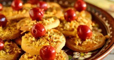Гогошь - Молдавское ореховое печенье