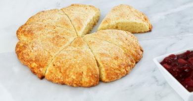 Баннок - Индейский хлеб из пресного теста