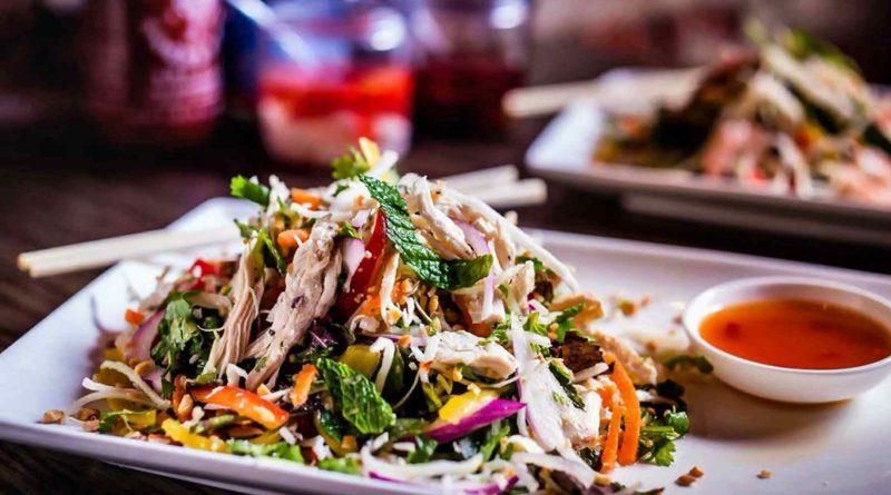 Гой Га - Вьетнамский салат с курицей