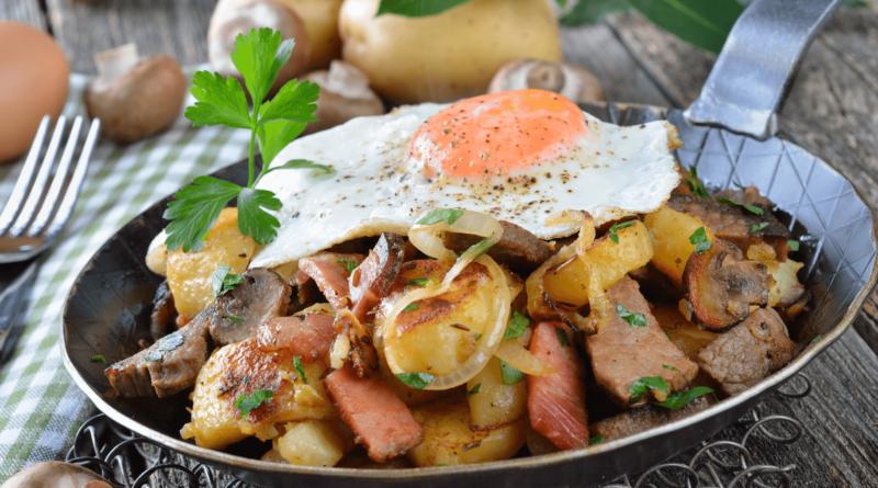 Грёстль - Картофель с мясом по-австрийски