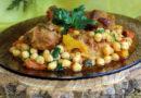 Гуштнут - Тушёное мясо с нутом по-восточному