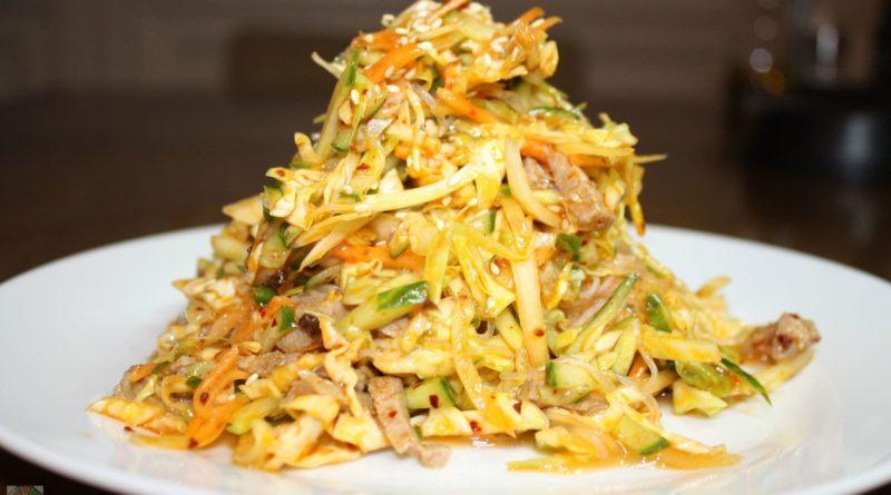 Салат из дайкона (редьки) по-китайски