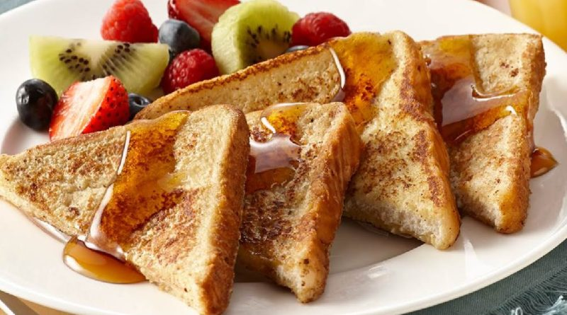 Французские гренки и Чесночные гренки из ржаного хлеба