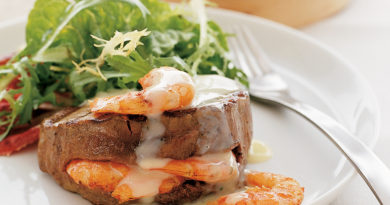 Сёрф энд тёрф - Мясо и морепродукты по-американски
