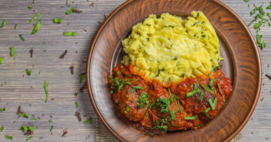 Скордалья - Картофельное пюре по-гречески