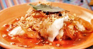 Рыбное севиче по-эквадорски