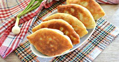 Пряженец - Пирожок из картофельного теста с начинкой по-русски