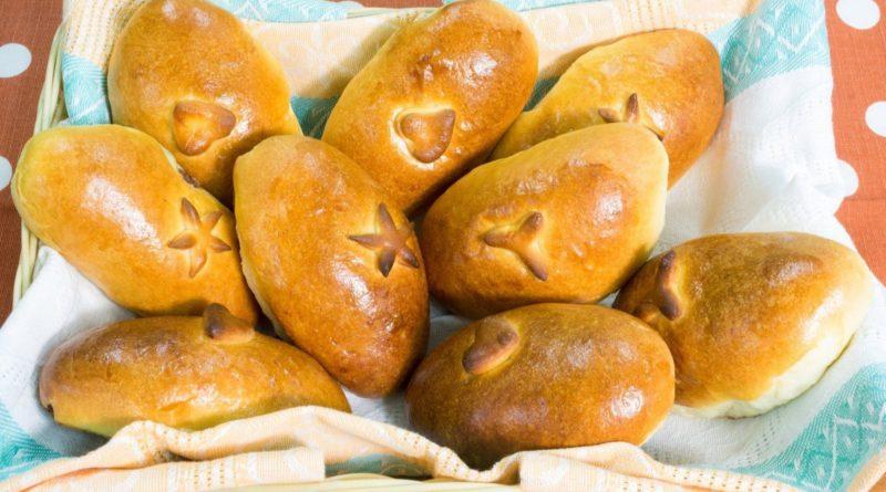 Пугья глика - Греческие пирожки с ореховой начинкой