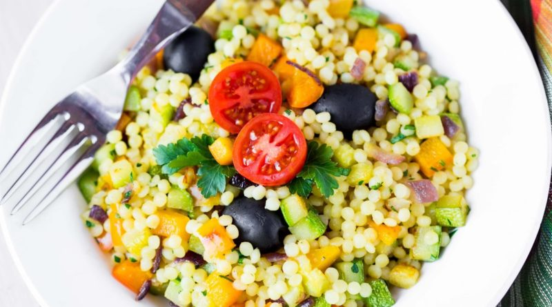 Птитим с овощами по-израильски