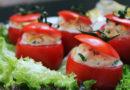 Помидоры, фаршированные брынзой, креветками и другие рецепты с помидорами
