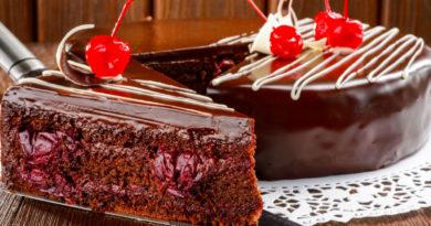 «Пьяная вишня» - Популярный в России торт