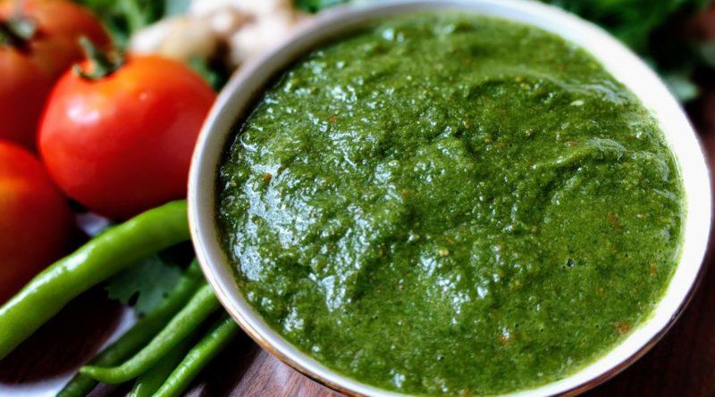 Зелёный чатни - Индийский соус