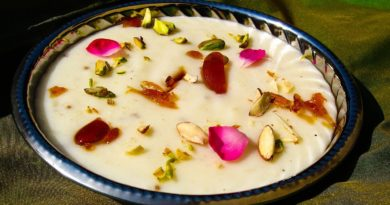 Фирни - Сладкая рисовая каша по-азербайджански
