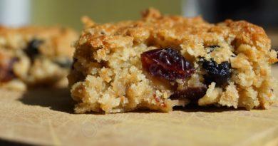 Флапджек (флэпджек) - Овсяное яблочно-ореховое печенье по-английски