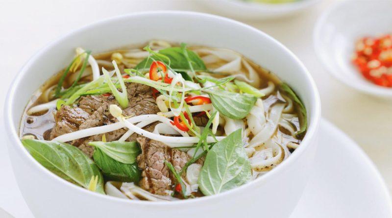 Фо бо - классический вьетнамский суп