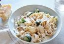 Паста с цветной капустой и ореховым соусом по-итальянски