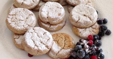 Рассыпчатое печенье из теста фролла по-итальянски