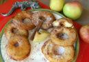 Яблочные фриттеры - Пончики по-американски