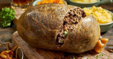 Хаггис - Фаршированный бараний желудок по-шотландски