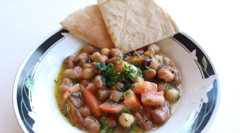 Фуль медамес - Арабская холодная закуска из отварных бобов