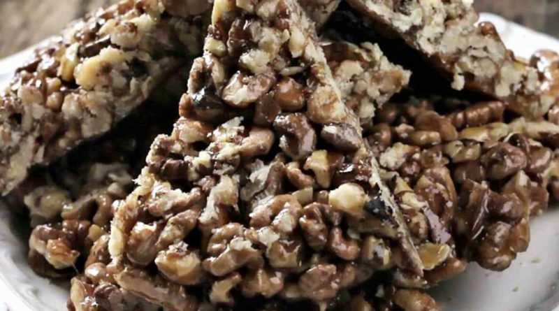 Халва из грецких орехов