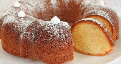 Фунтовый кекс (паундкейк) - Десерт по-английски