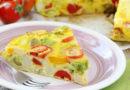 Фриттата со сладким перцем -Омлет по-итальянски
