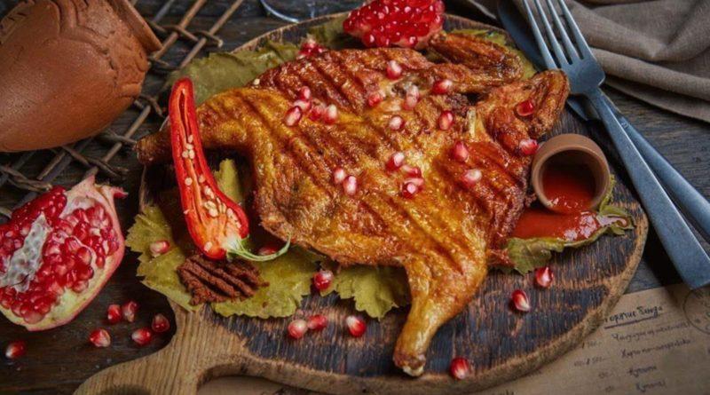 Цыплёнок табака по-грузински