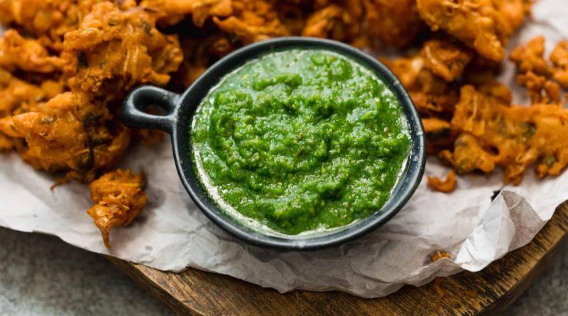 Зелёный чатни по-индийски