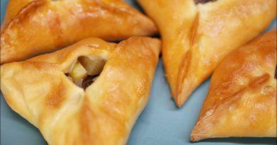 Эчпочмак Татарский пирожок с мясом и картофелем