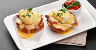 Яйца Бенедикт по-французски