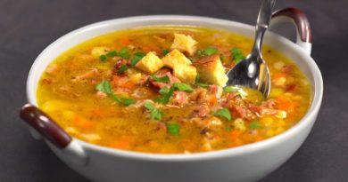 «Язык птички» - Египетский постный суп