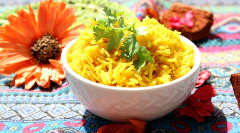 Творожный рис по-индийски