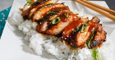 Курица терияки по-японски