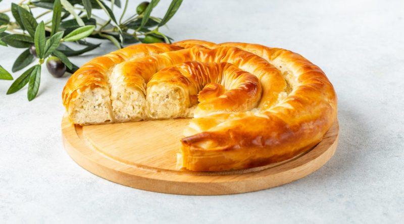 Тиропита - Сырный пирог по-гречески