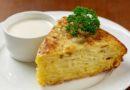 Запечённая картофельная тортилья (яично-картофельная запеканка) по-испански